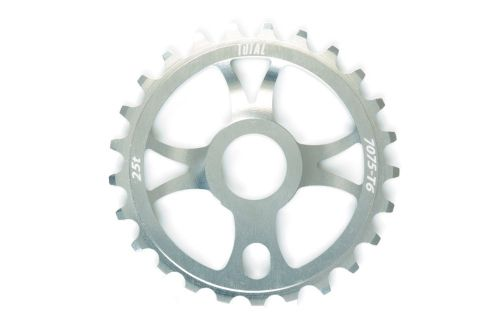 Total BMX Rotary Sprocket - Silver 25 Tooth